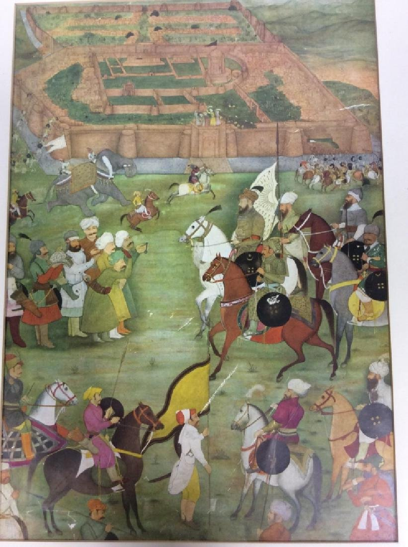 Group of Framed prints of Persian Scenes - 3