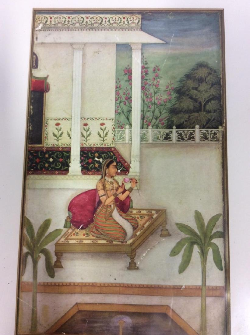 Group of Framed prints of Persian Scenes - 5