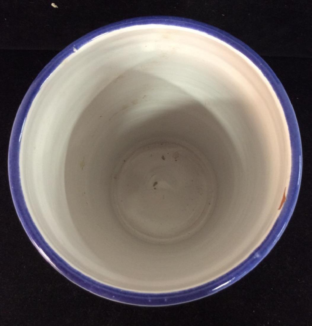 Handcrafted Ceramic Nautical Vase - 2