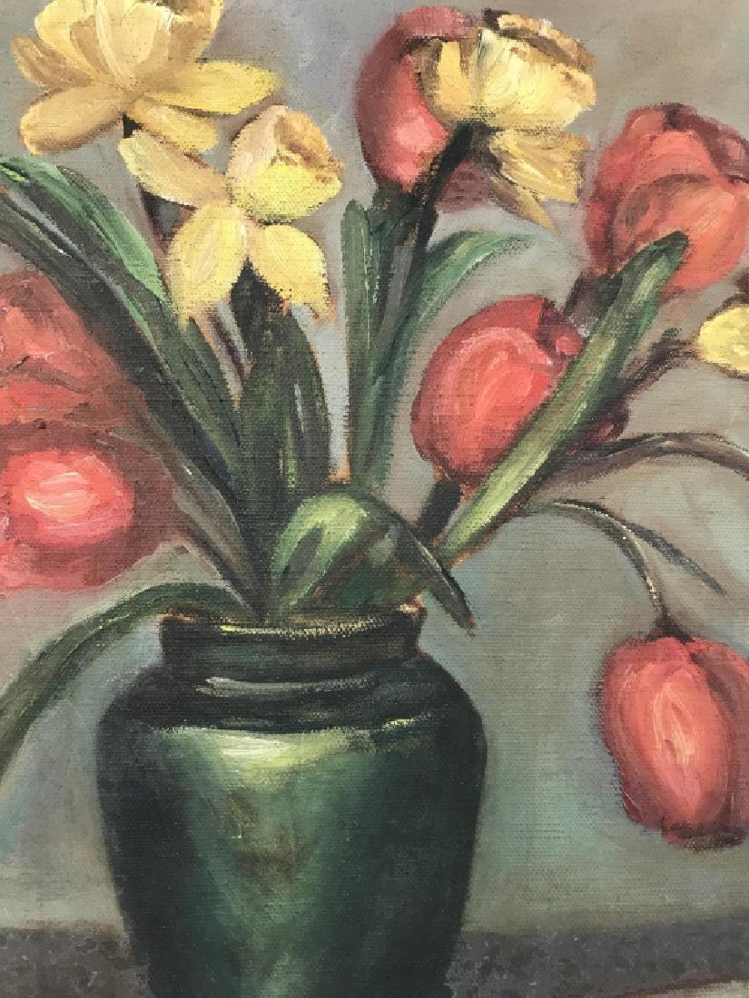 Still Life Oil On Canvas - 2