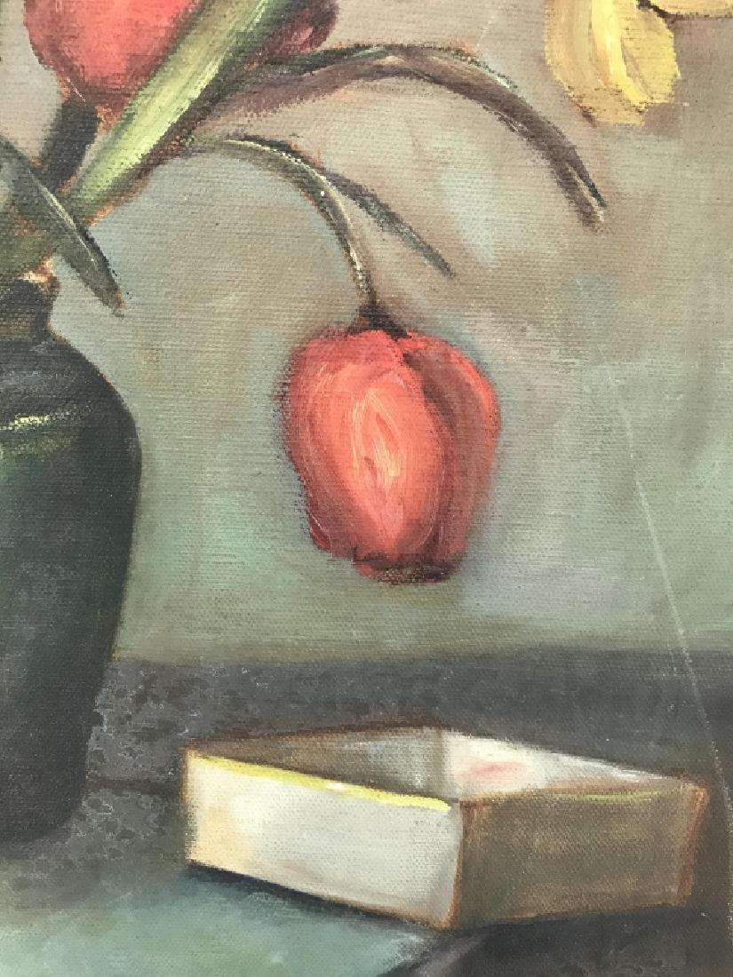 Still Life Oil On Canvas - 3