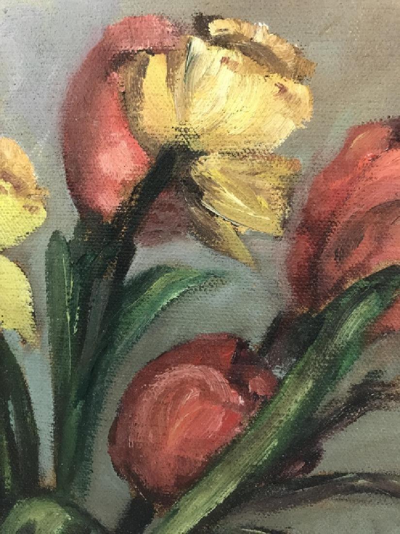 Still Life Oil On Canvas - 6