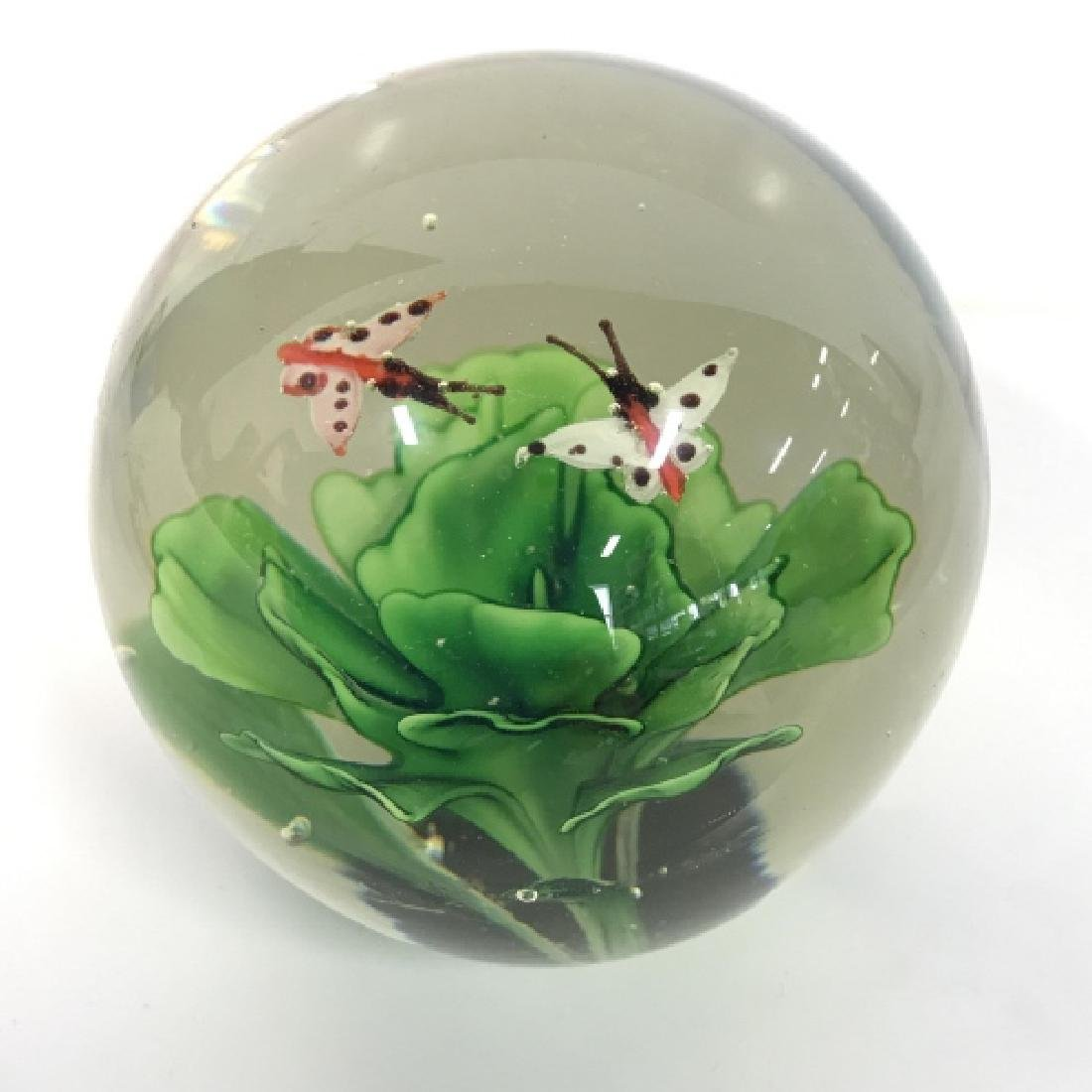 Lot 2 Poss MURANO Art Glass Paperweights - 3