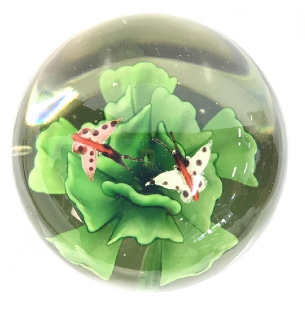 Lot 2 Poss MURANO Art Glass Paperweights - 4