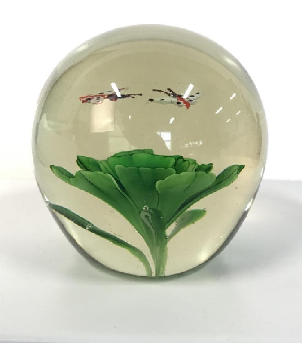 Lot 2 Poss MURANO Art Glass Paperweights - 5