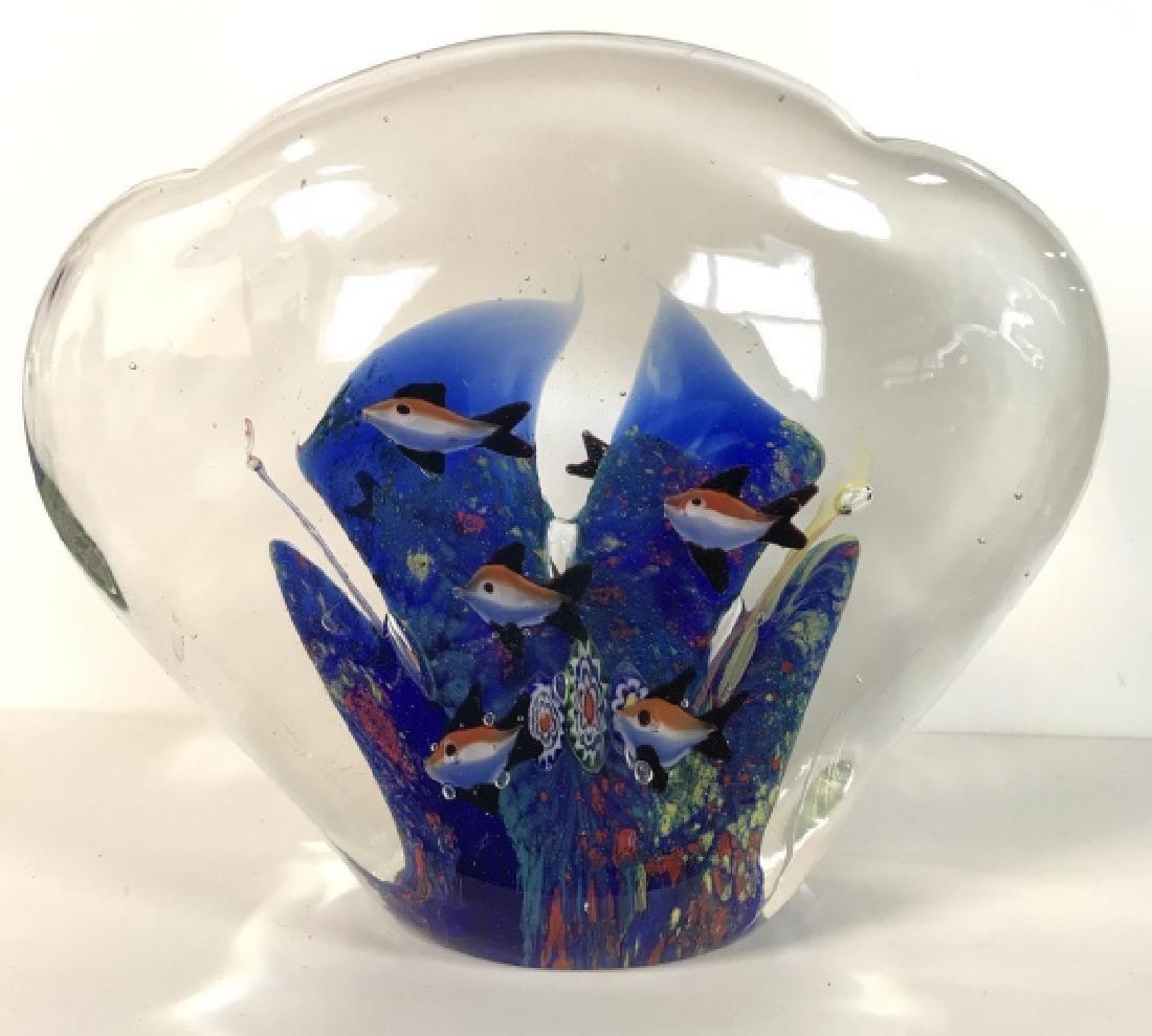 Lot 2 Poss MURANO Art Glass Paperweights - 6