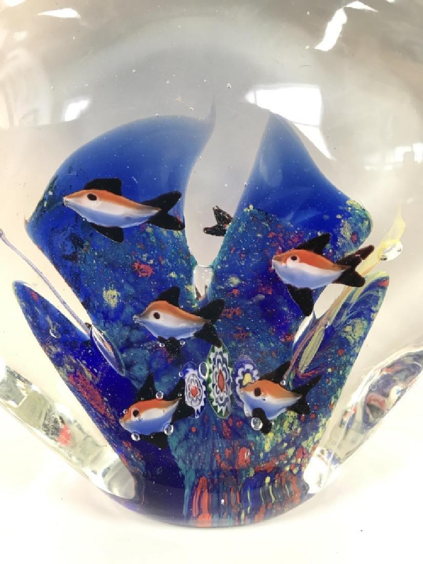 Lot 2 Poss MURANO Art Glass Paperweights - 7