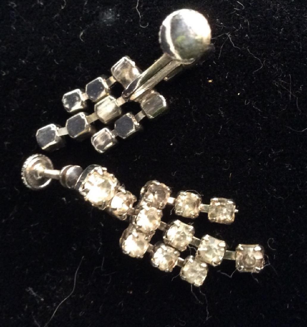 Lot 2 Vintage Rhinestone Costume Jewelry - 4