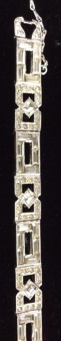 Lot 2 Vintage Rhinestone Costume Jewelry - 5