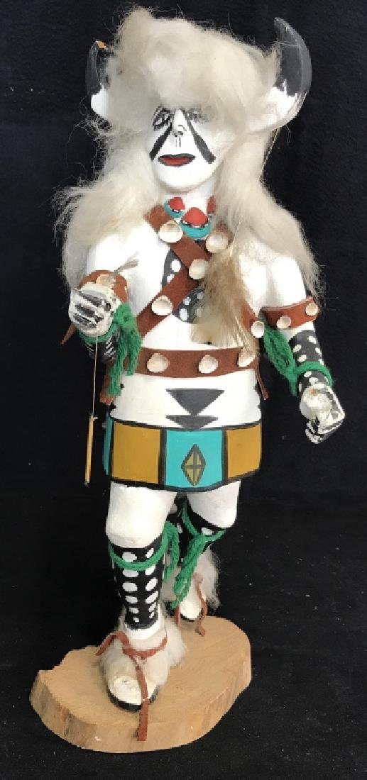 Signed Titled Hand Crafted Kachina Doll