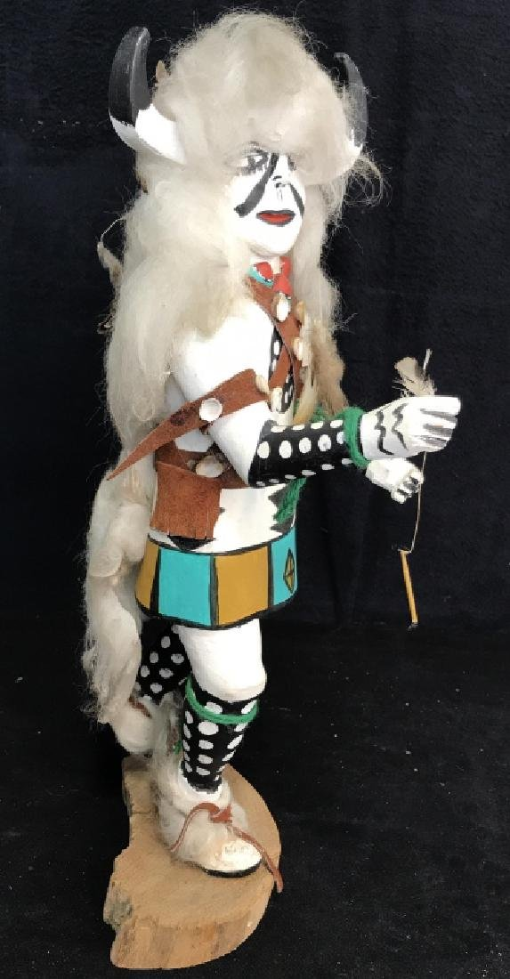 Signed Titled Hand Crafted Kachina Doll - 7