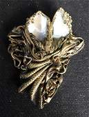 Arts and Crafts Vintage Pin Brooch