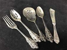 Group Set of Silver Serving Pieces