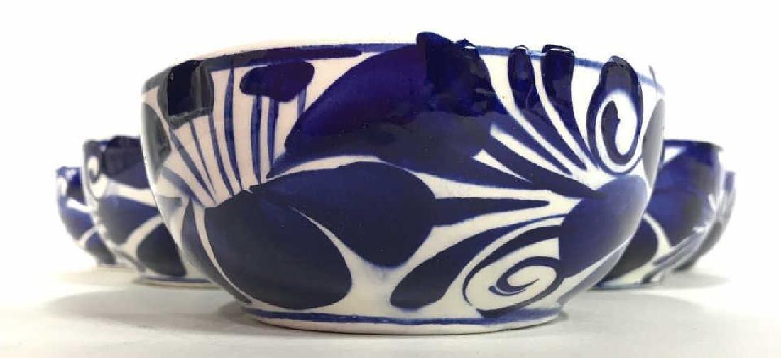 Set 6 Porcelain Hand Painted Bowl - 2