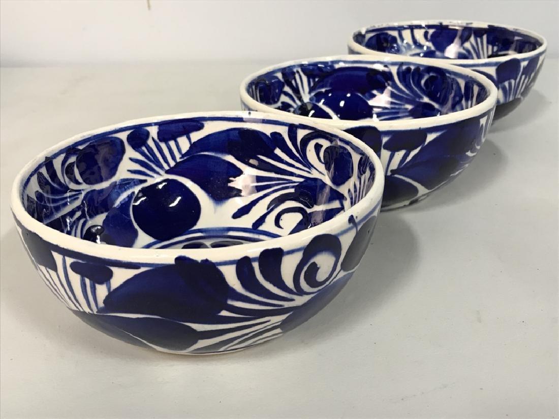 Set 6 Porcelain Hand Painted Bowl - 3