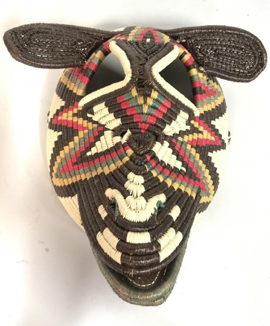 Woven African Style Mask