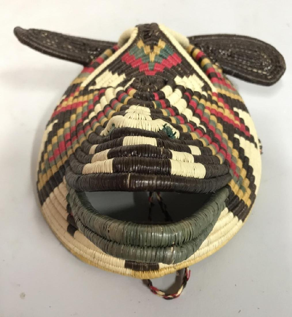 Woven African Style Mask - 3