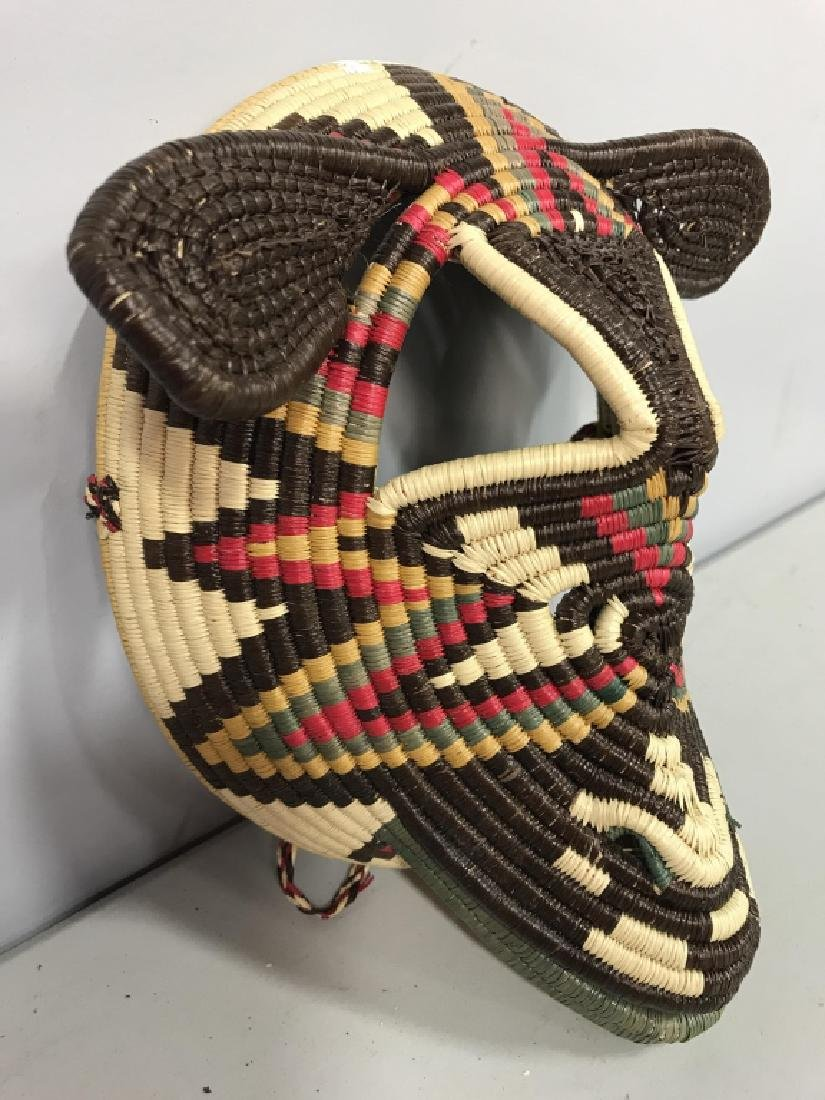 Woven African Style Mask - 5