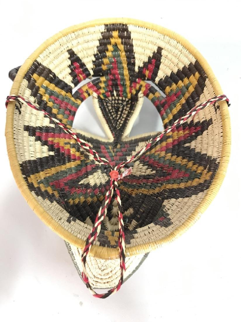 Woven African Style Mask - 6