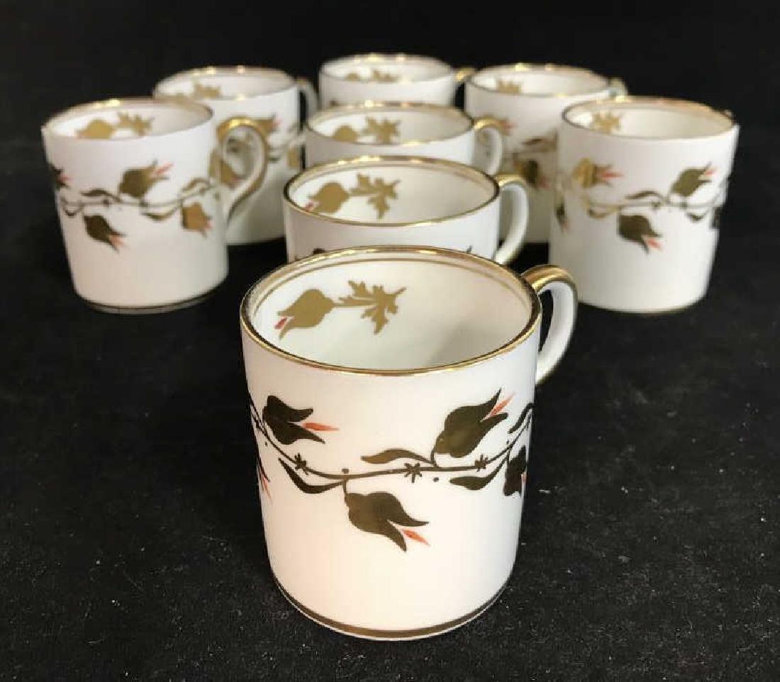 Set 8 ROYAL CHELSEA Espresso Cups