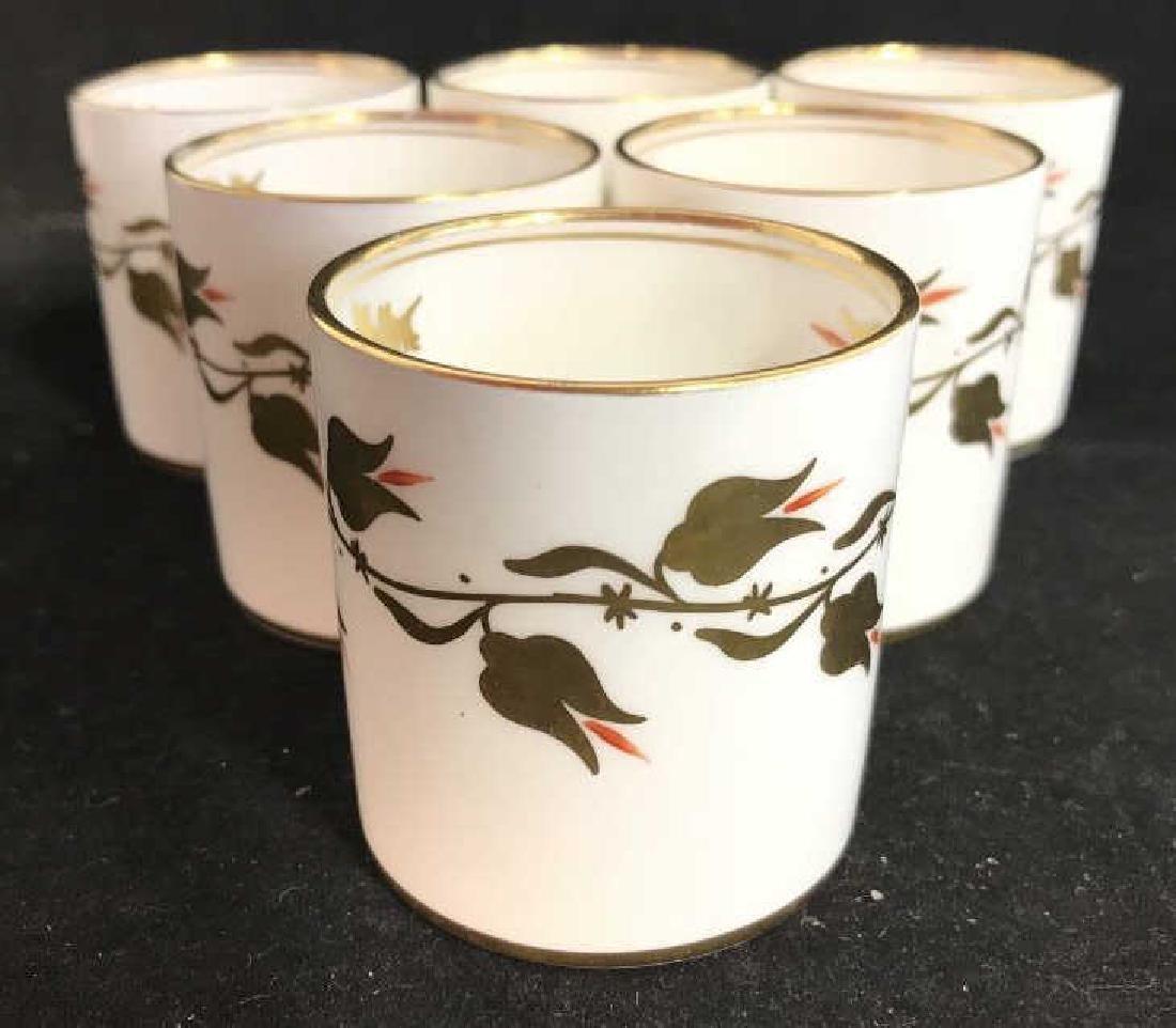 Set 8 ROYAL CHELSEA Espresso Cups - 2