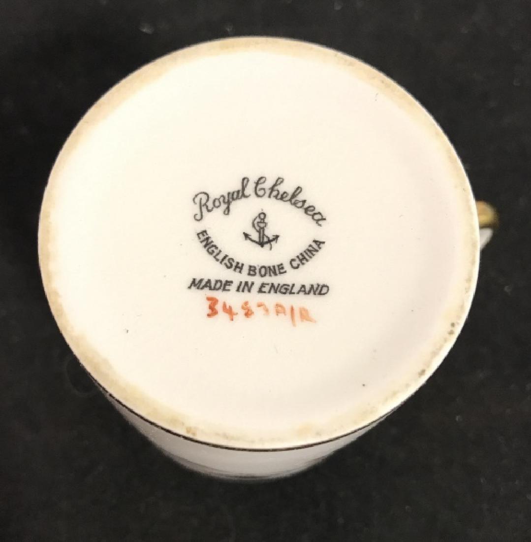 Set 8 ROYAL CHELSEA Espresso Cups - 5