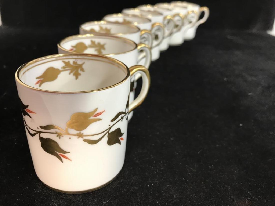 Set 8 ROYAL CHELSEA Espresso Cups - 6