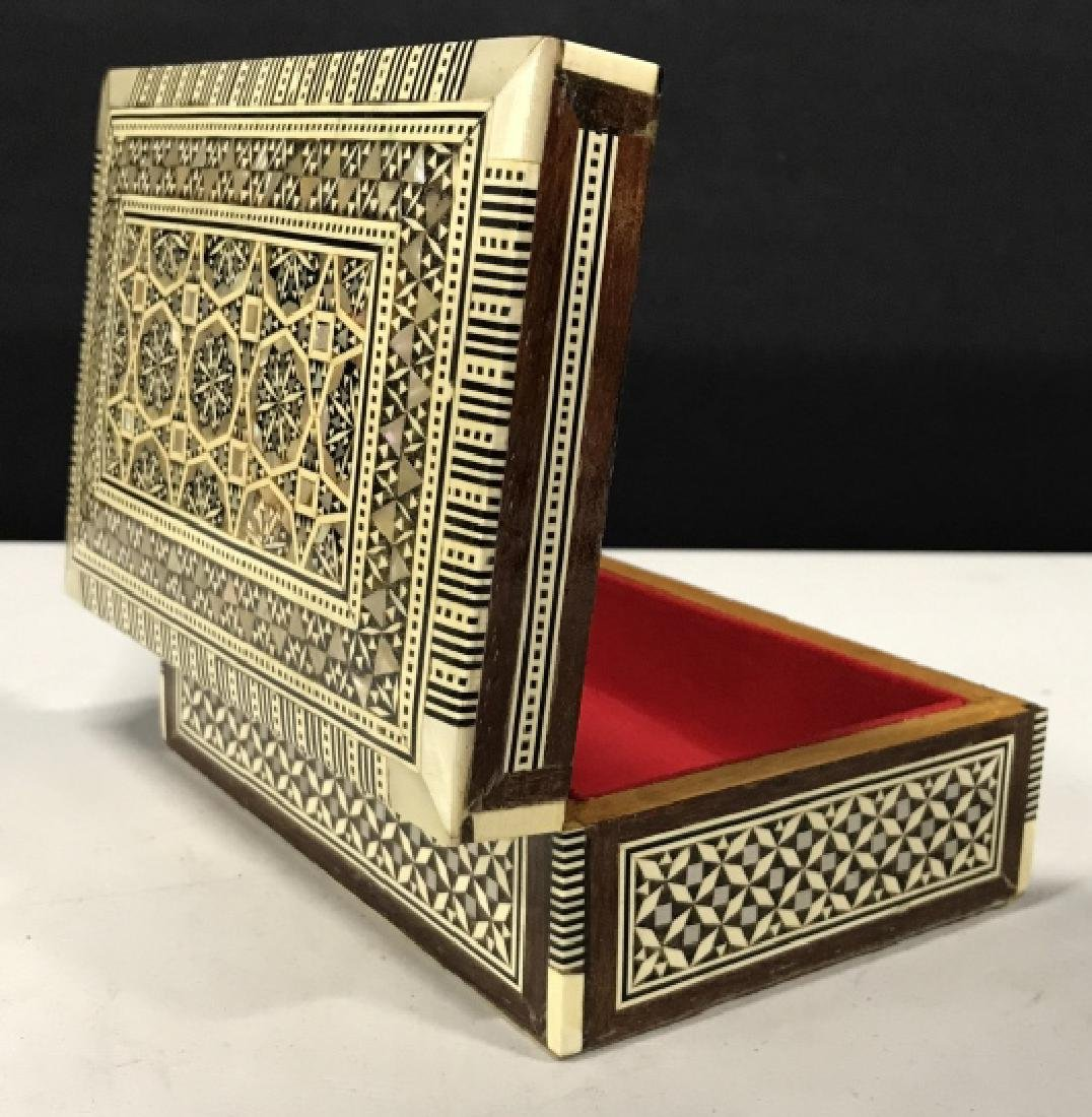 Middle Eastern Mosaic Box W Mother of Pearl