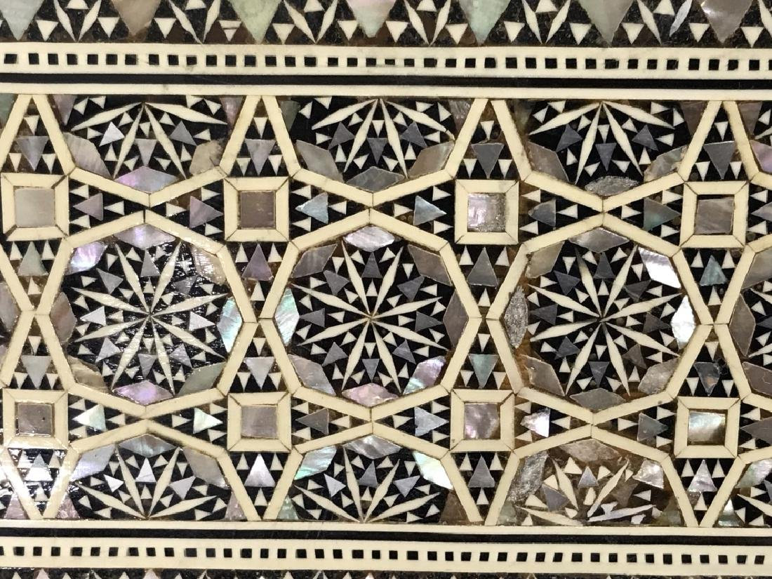 Middle Eastern Mosaic Box W Mother of Pearl - 5