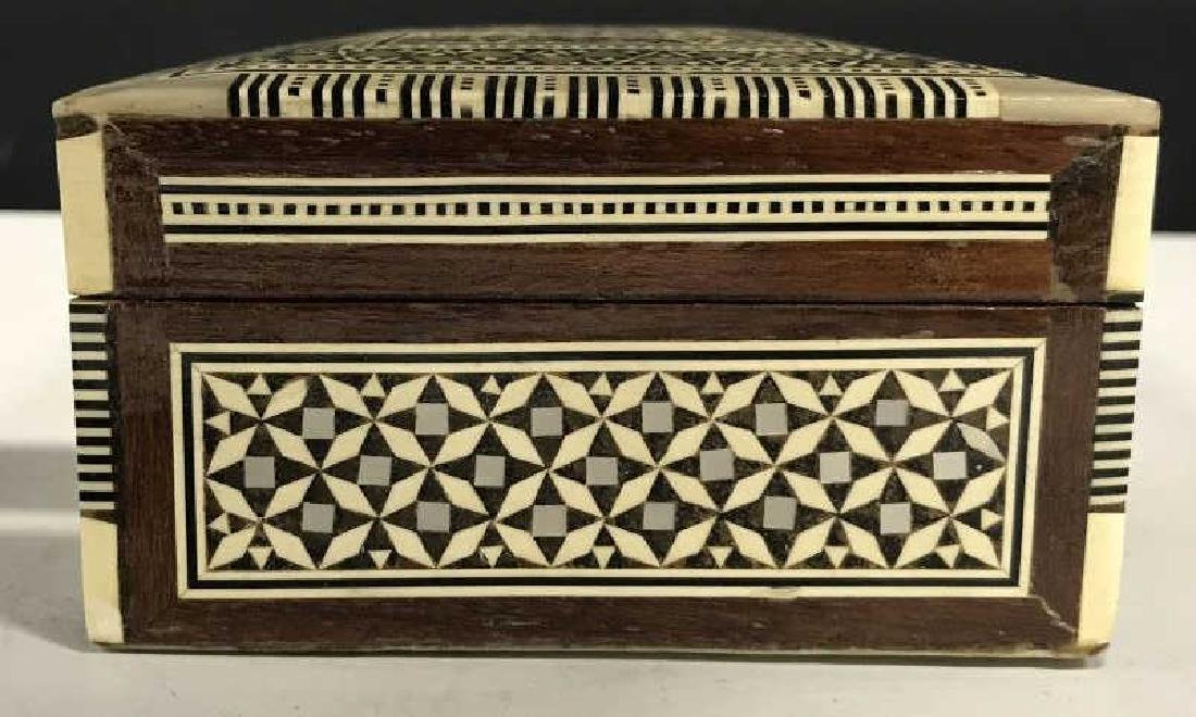 Middle Eastern Mosaic Box W Mother of Pearl - 6