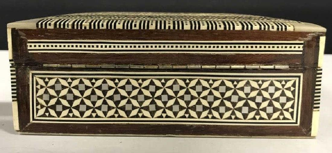 Middle Eastern Mosaic Box W Mother of Pearl - 7