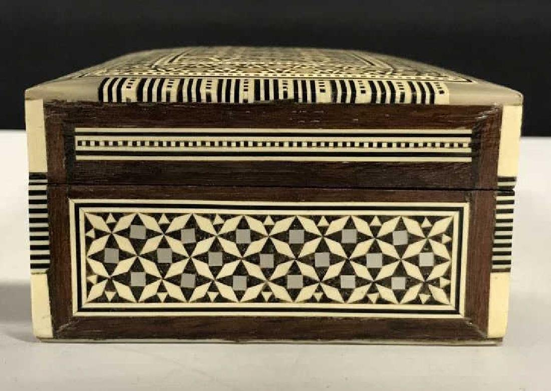 Middle Eastern Mosaic Box W Mother of Pearl - 9