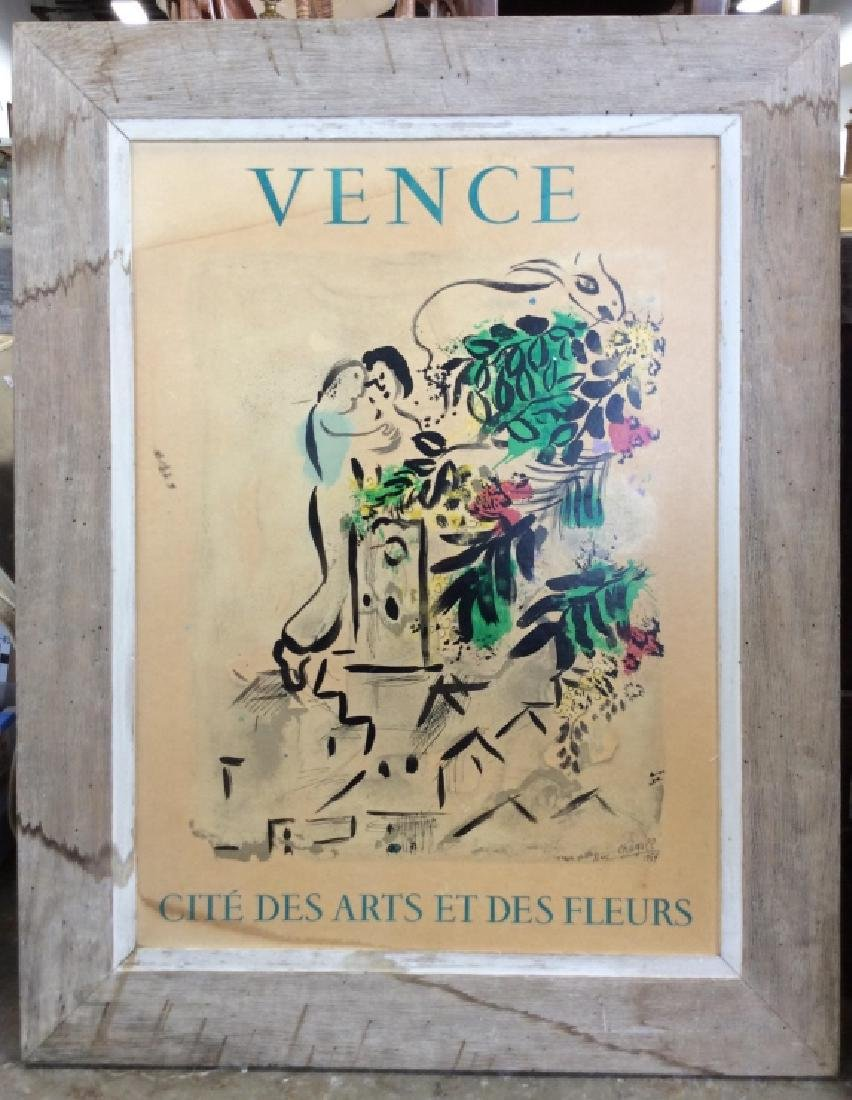 VENCE Framed Art Print