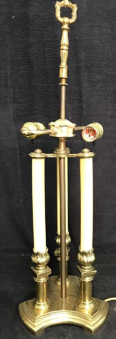 Candlestick Style Lamp W Shade - 5