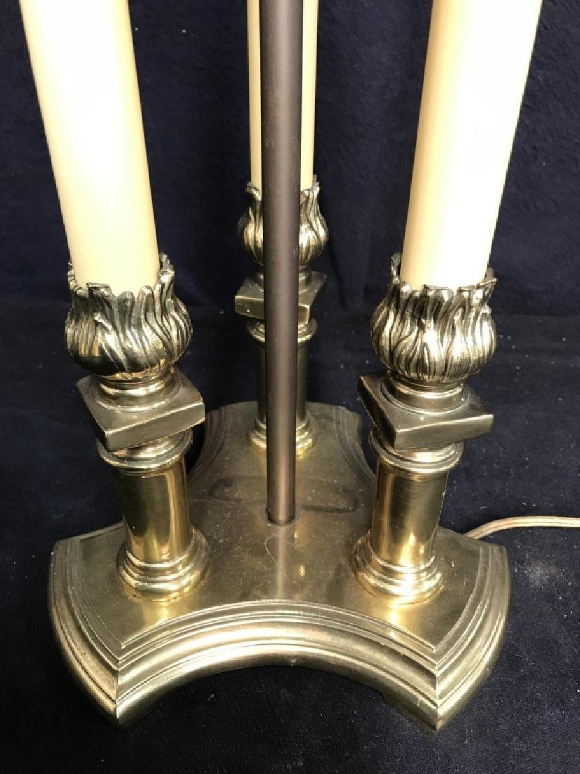 Candlestick Style Lamp W Shade - 6