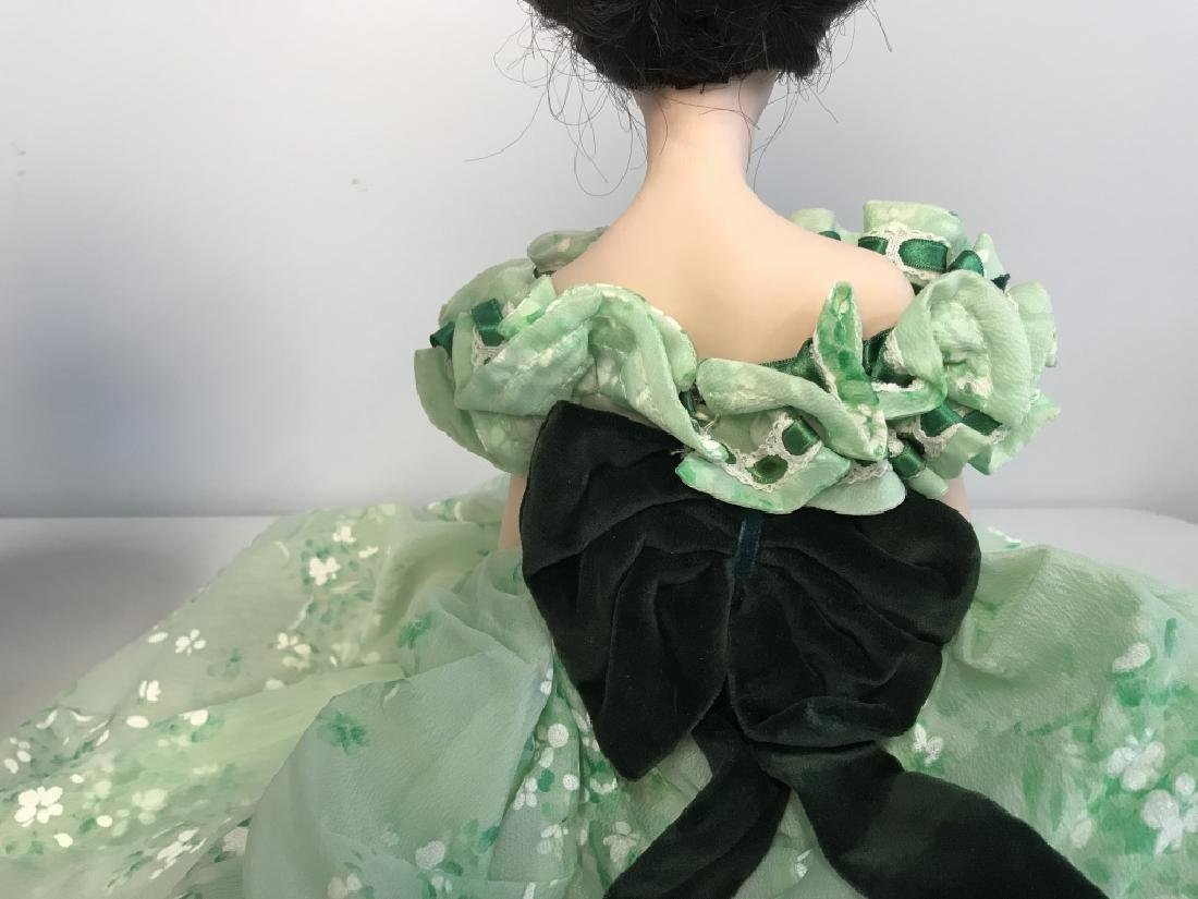 Vintage FRANKLIN HEIRLOOM Porcelain Doll - 5