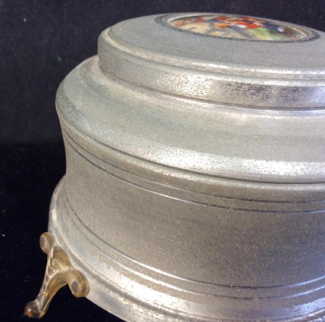 Vintage Mixed Material Music Box - 8
