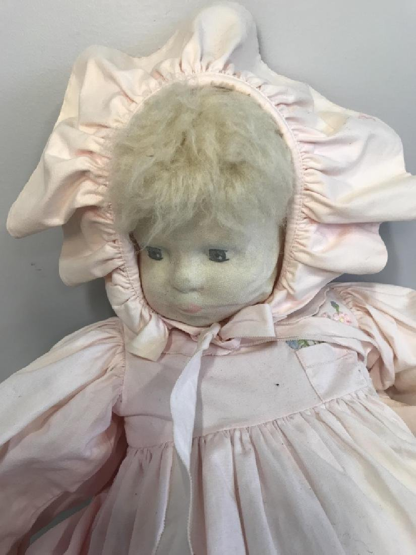 Vintage Doll W BERGDORF GOODMAN Baby Clothes - 2