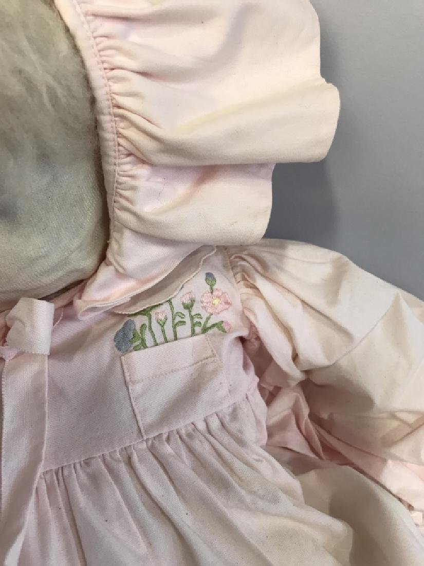 Vintage Doll W BERGDORF GOODMAN Baby Clothes - 3
