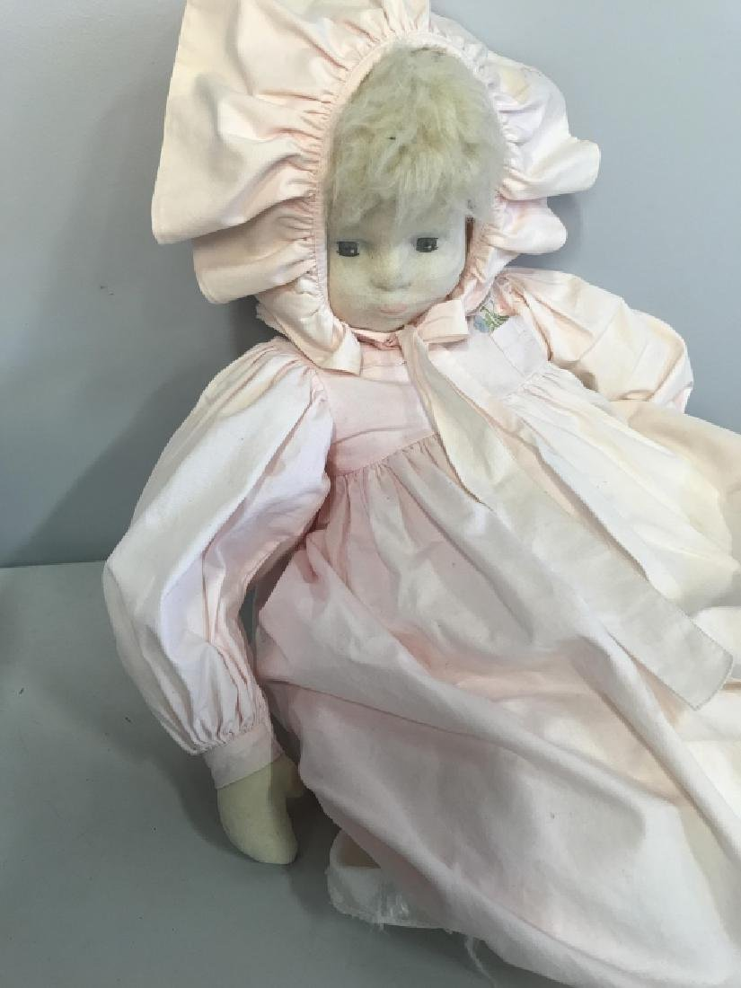 Vintage Doll W BERGDORF GOODMAN Baby Clothes - 4