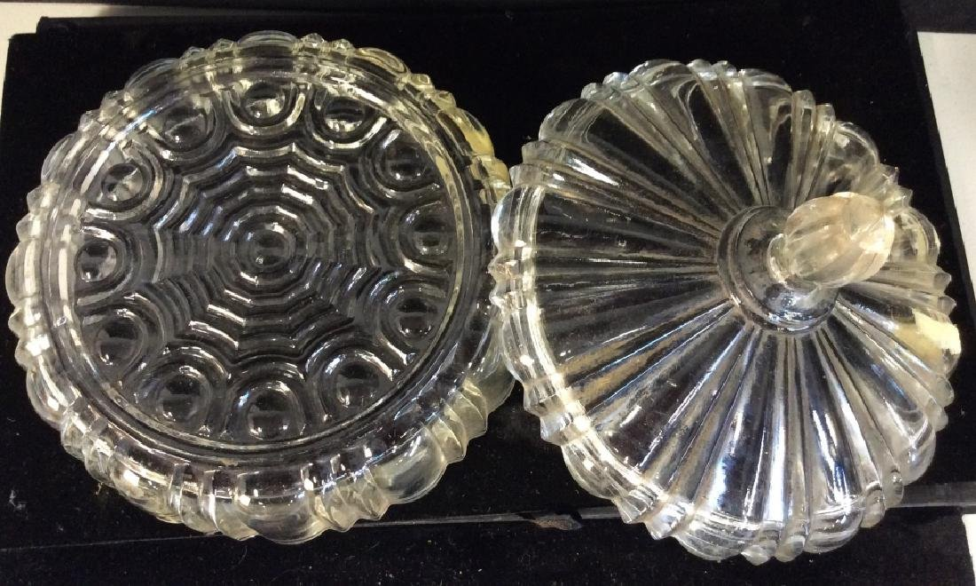 Vintage Group lot of candy Dishes - 7