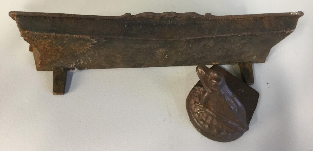 Group lot Cast Iron items - 2