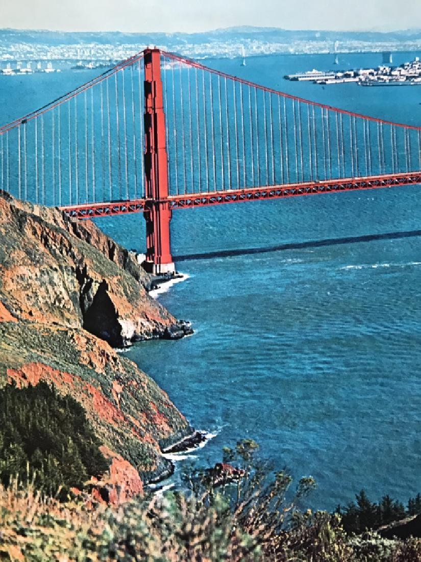 Vintage San Francisco Travel Advertisement Poster