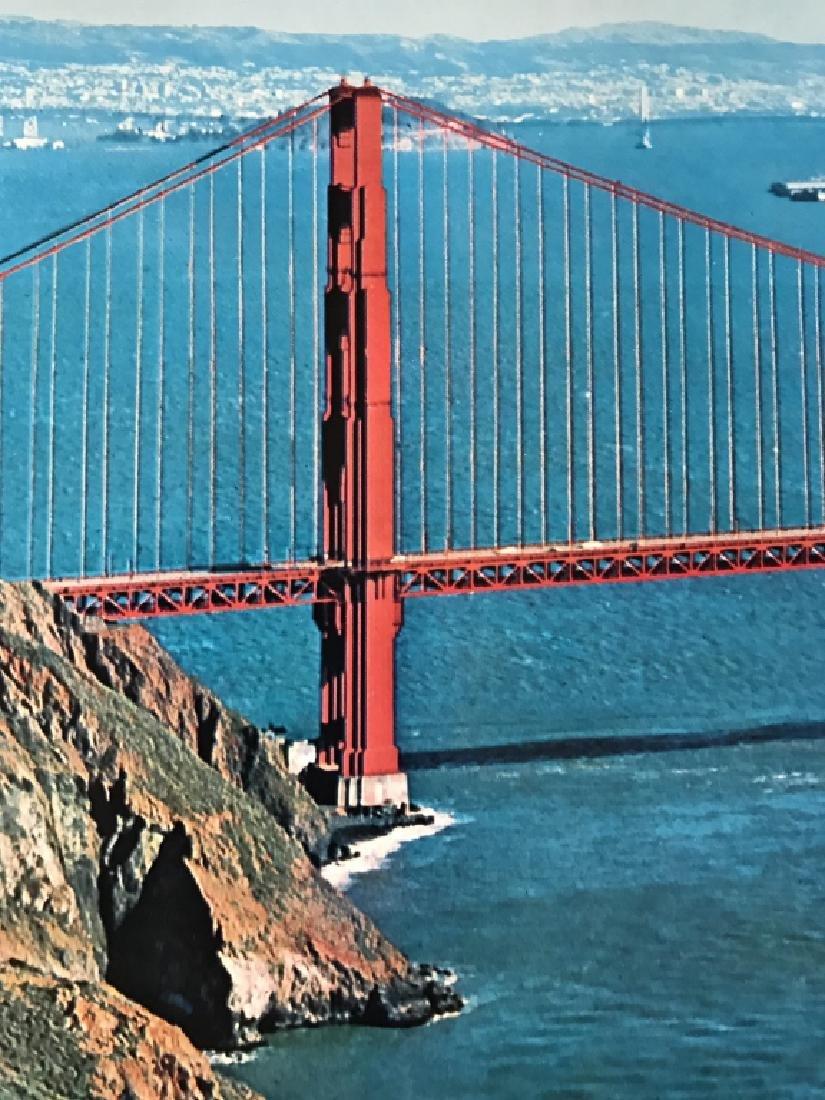 Vintage San Francisco Travel Advertisement Poster - 3