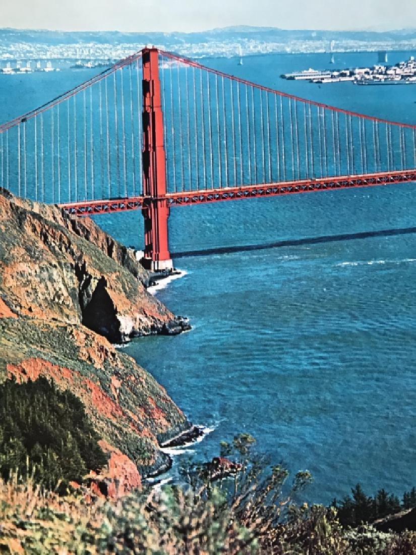 Vintage San Francisco Travel Advertisement Poster - 5