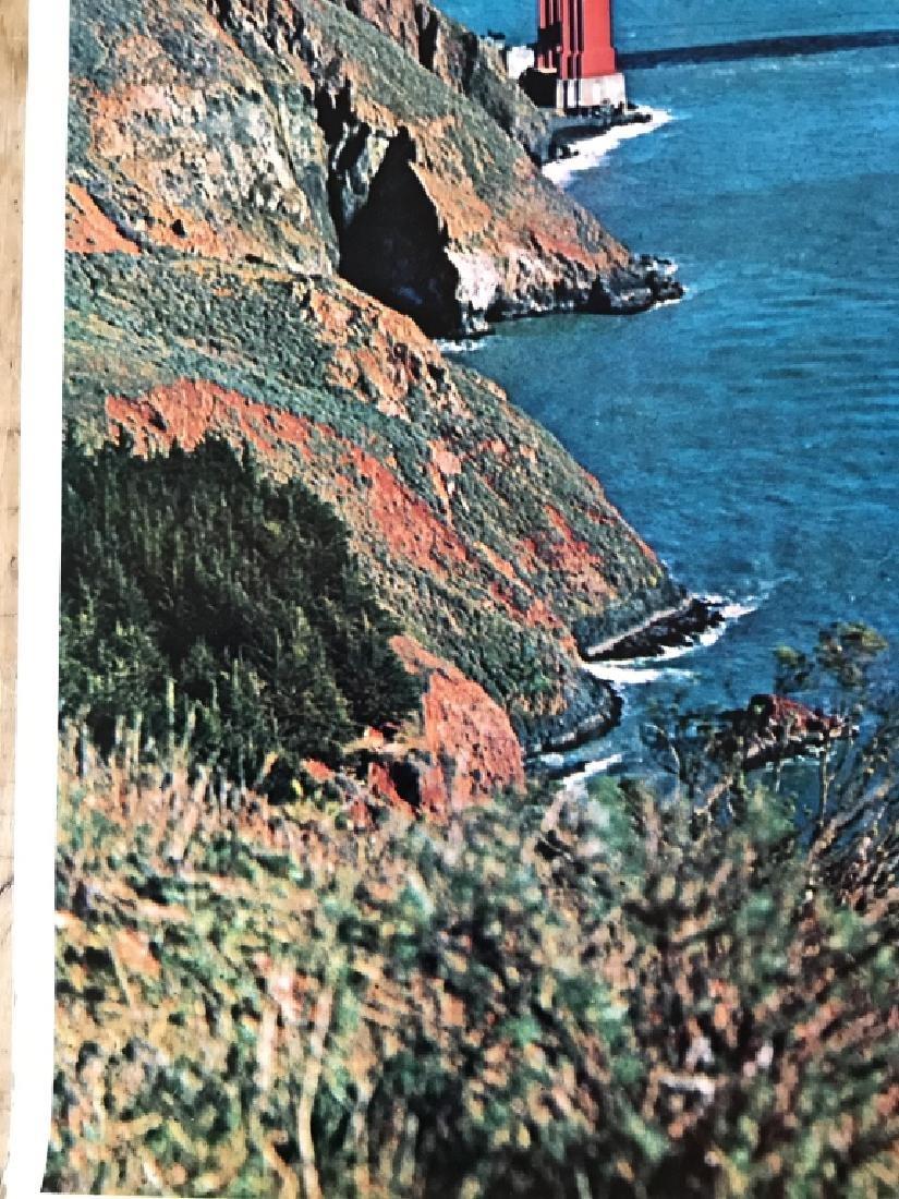 Vintage San Francisco Travel Advertisement Poster - 6