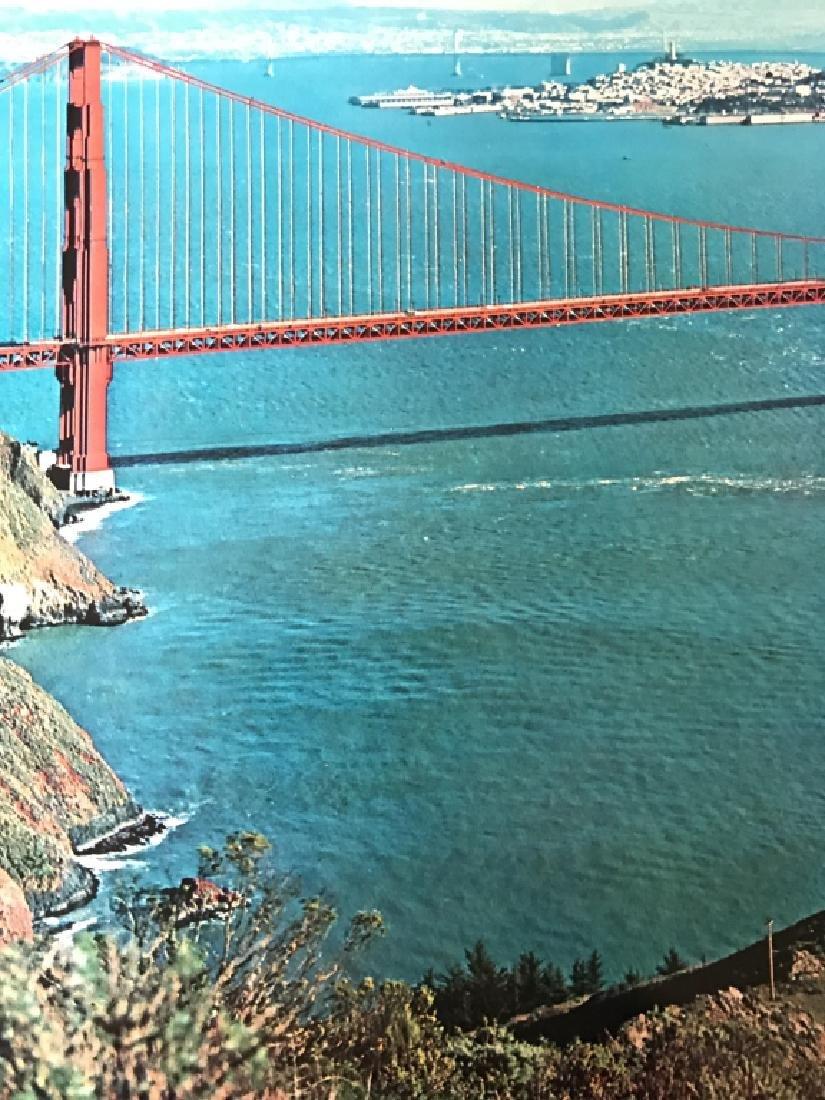 Vintage San Francisco Travel Advertisement Poster - 7