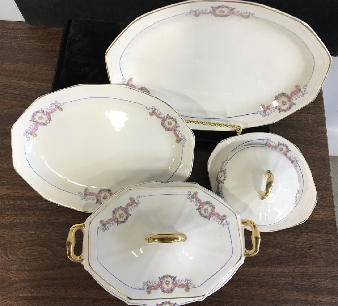 Vintage Group of porcelain Serving Utensils