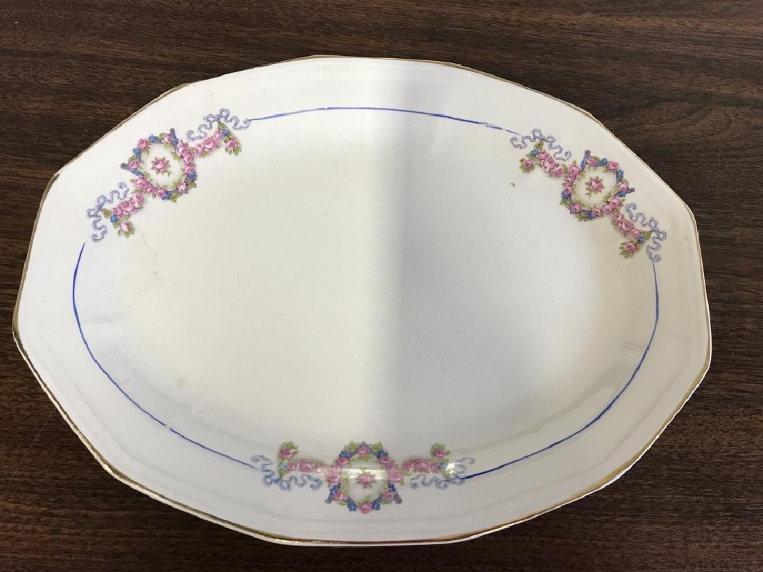 Vintage Group of porcelain Serving Utensils - 4