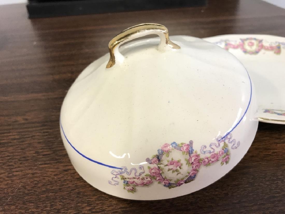Vintage Group of porcelain Serving Utensils - 6